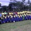 Turnamen Sepak Bola Tim Mapolres Tasikmalaya Kota Vs Tim Mapolsek Rajapolah Di Guyur Hujan