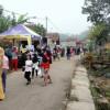 Salah Satu Jalan Kampung Diwilayah Desa Tanjungpura Dijadikan Wahana Wisata CFD