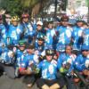 Gandeng Komunitas Sepeda, H. Yoyom Romya Gelar Goweser Ceria Sosialisasi Tarung Pileg
