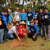 Pers Tour APG 126 Kota Tasikmalaya, Berikan Sejumlah Pohon Kepada DLH Pangandaran