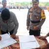 Pemkab Aceh Timur Serahkan 2492 Satlinmas Ke Polres