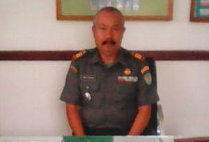 Danramil 0903, Kapten Infanteri Aman Rohman