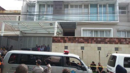 Rumah Korban Perampokan Pulomas Jakarta