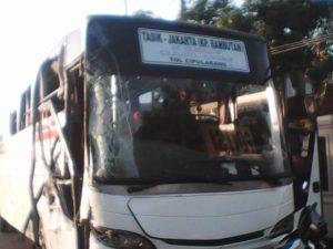 Tabrakan Bus