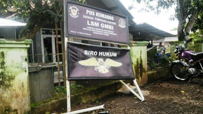 Sekretariat GMBI Dirusak