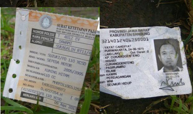 fotocopi identitas diduga milik pelaku bom copy