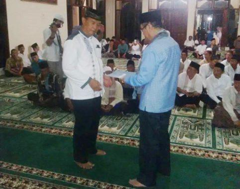 Bupati Ciamis Laksanakan Bukber di Masjid Jami At Thoat Cihaurbeuti