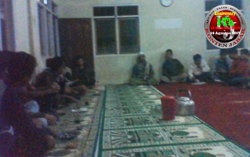 Di Kampung Caringin Pemilihan Ketua Karang Taruna di Menangkan Oleh Adi