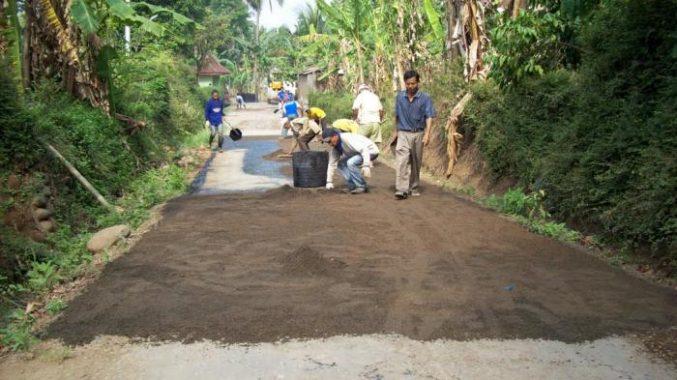 Pemdes Cihaurbeuti Alokasikan Dana Desa di Beberapa Titik