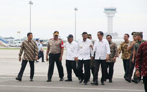 Ribuan Personil TNI Polri Sengaja Disiagakan Sambut Kunjungan Presiden Jokowi