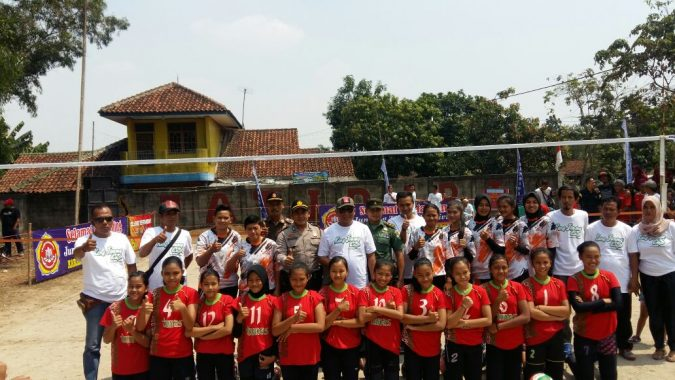 Tim Bola Voly Desa Wanajaya