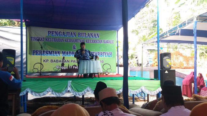 Drs.H.Budi Budiman menghadiri peresmian