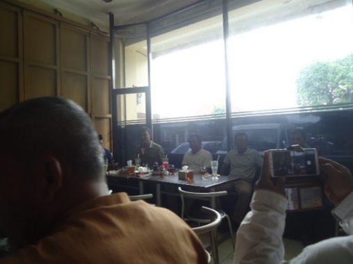 Bupati Ciamis H.Herdiat Dan Wakil Bupati Yana D Putra Bersama Wartawan