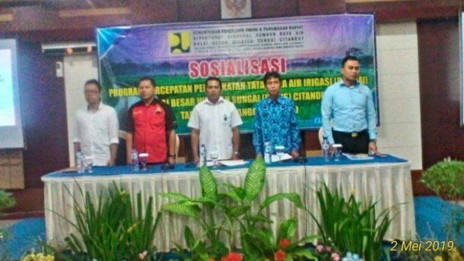 BBWS Citanduy mengelar sosialisasi P3A